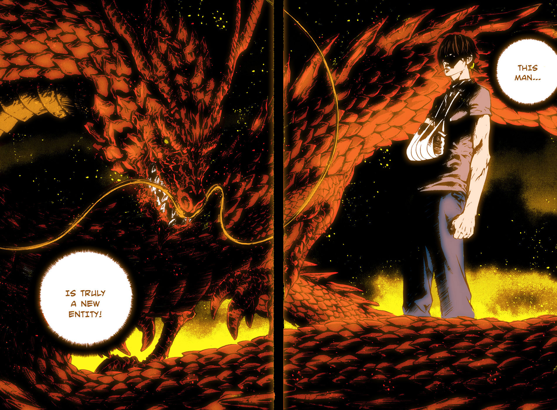 Scan d'une double page